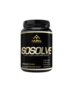 MPA Supplements - IsoSolve™ - 100% Cold-Filtered Whey Isolate